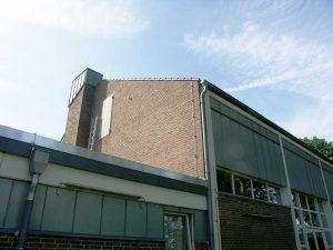 Dach und Notausgang